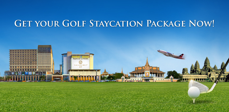 Get your golf staycation package at NagaWorld Hotel now!